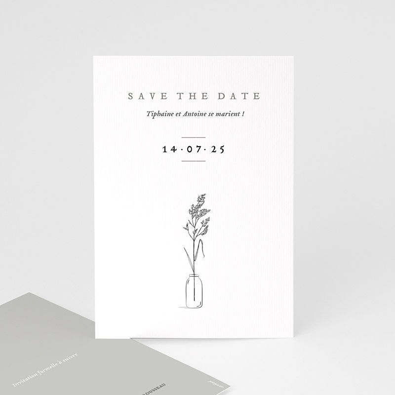 Save The Date Mariage Brin d'amour