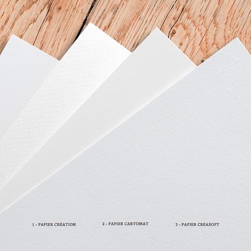 Carte Remerciement Mariage Photo Boisé, Photo, 10 x 10 gratuit