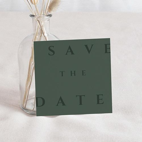 Save The Date Mariage Boisé, D-Day, 10 x 10 cm