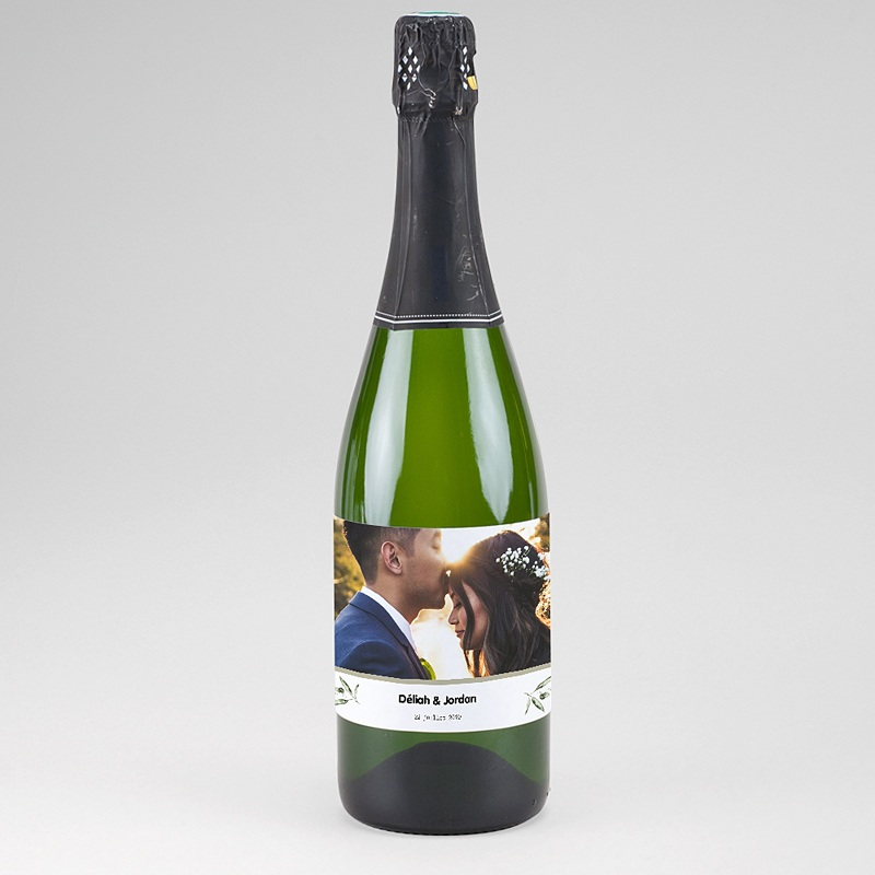 Etiquette Bouteille Champagne Be Bold