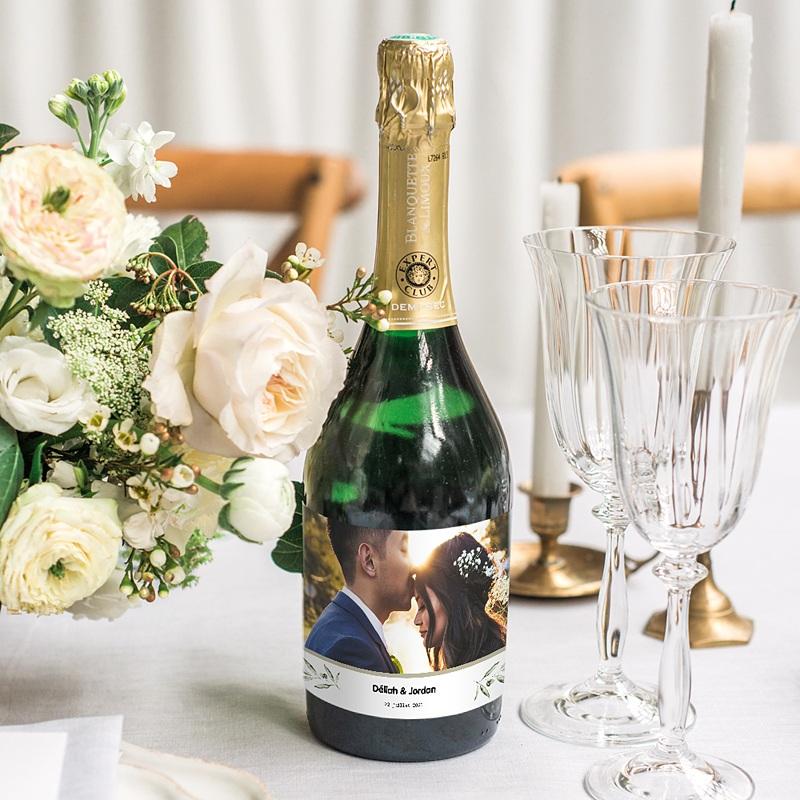 Etiquette Bouteille Champagne Be Bold gratuit