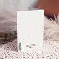 Carte de Voeux Entreprise Sapins & encre de chine gratuit