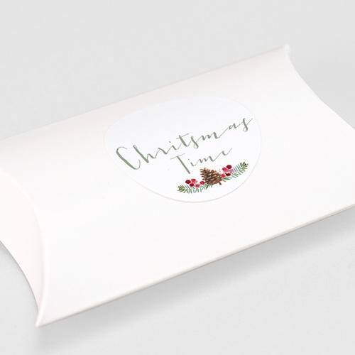 Etiquette Noël Pomme de pin gratuit