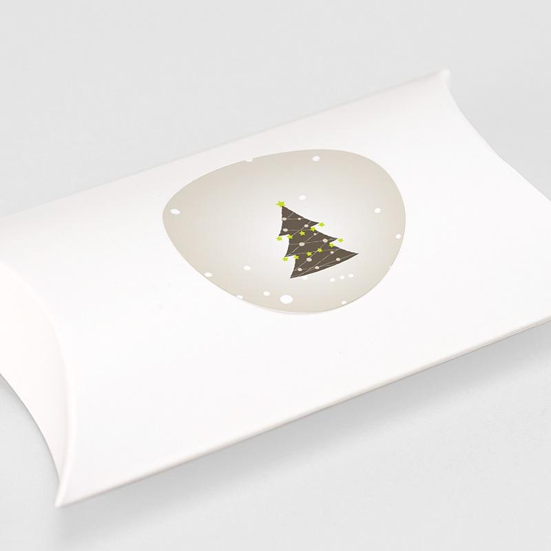 Etiquette Noël SAPIN DE NOEL ET GUIRLANDE gratuit
