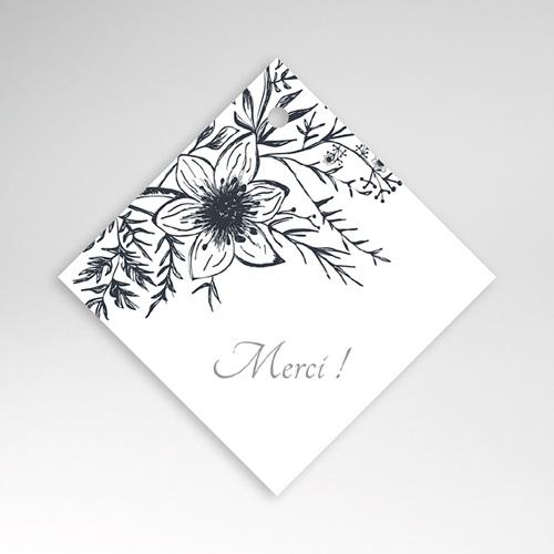 Etiquette Cadeau Mariage Esquisse Florale