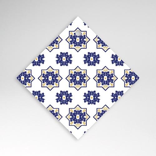 Etiquette Cadeau Mariage Bleu Ottoman