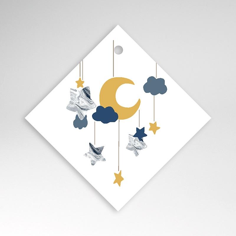 Etiquette Cadeau Naissance Nouvelle Lune