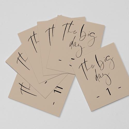 Marque Table Mariage Typo Manuscrite