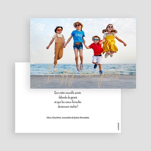 Carte de Voeux Dorure, photo, Happy New Year gratuit