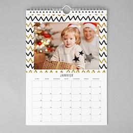Calendrier photo - Un Noël doré 82816