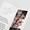 Carte de Voeux Marque-page, pochette, vert pas cher
