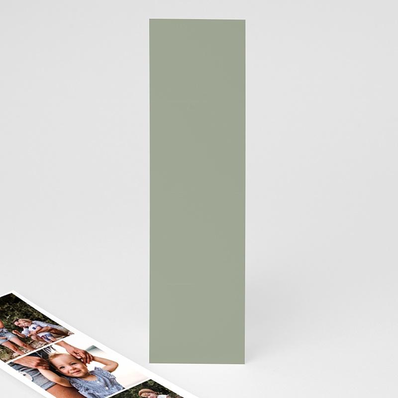 Carte de Voeux Marque-page, pochette, vert