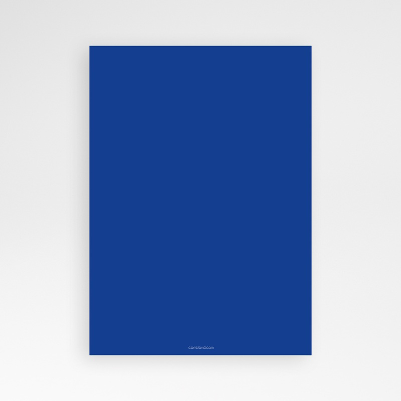 Invitation Anniversaire Garçon - 3 ans bleu 8313 thumb