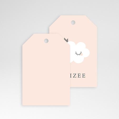 Etiquette Cadeau Naissance Little Cloud, 6 cm x 4 cm pas cher