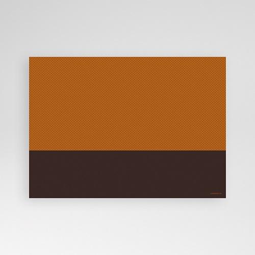 Invitation Anniversaire Adulte - Couleur Caramel 8333 thumb