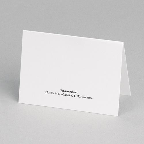 Carte Remerciement Décès Etapes de vie, 3 Photos, 10,5 x 15  pas cher