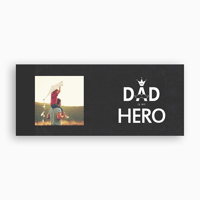 Mug Personnalisé Fête des Pères My hero, 1 photo pas cher