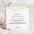 Carte Invitation Anniversaire Adulte 25 ans Disco, Vernis, Carré pas cher