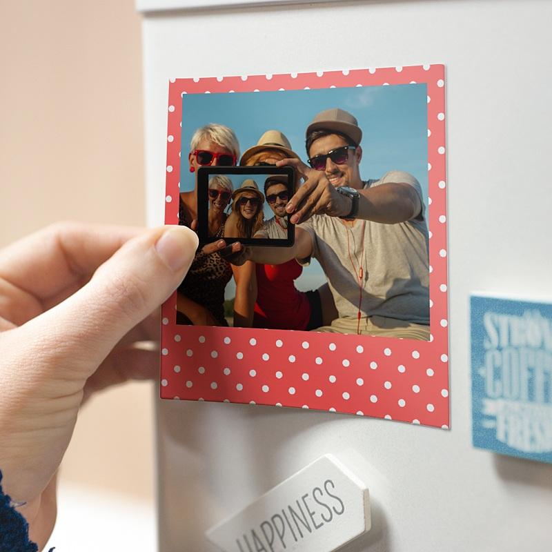 Magnet Photo Côtillons d'anniversaire