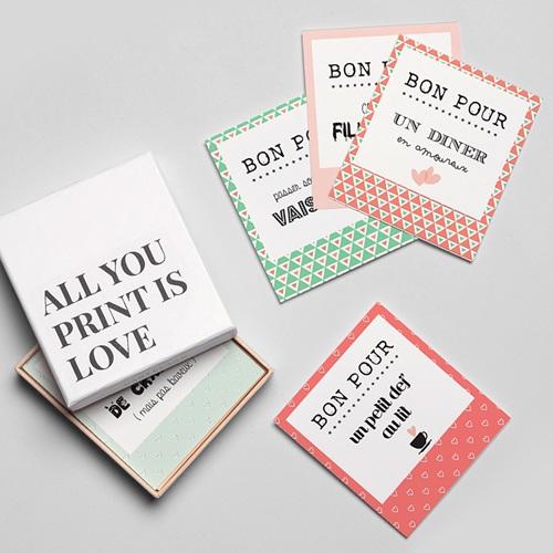 Magnet Photo Tickets d'amour gratuit