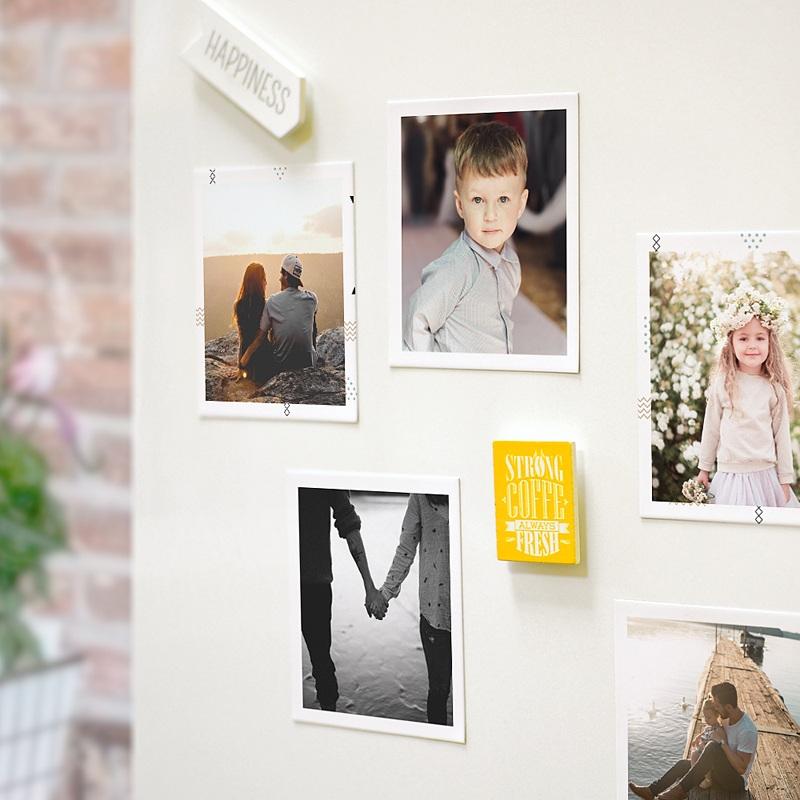 Magnet photo rétro Best Dad Photos pas cher