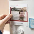 Magnet photo rétro Walking Dad Addict