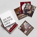 Magnet photo rétro Fête de l'Amour gratuit