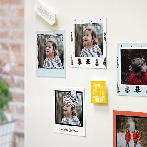 Magnet photo rétro Petits Arbres pas cher