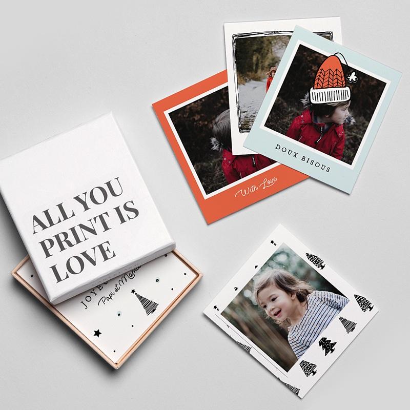 Magnet photo rétro Petits Arbres gratuit