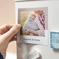Carte Remerciement Baptême Fille Pinceau Rose