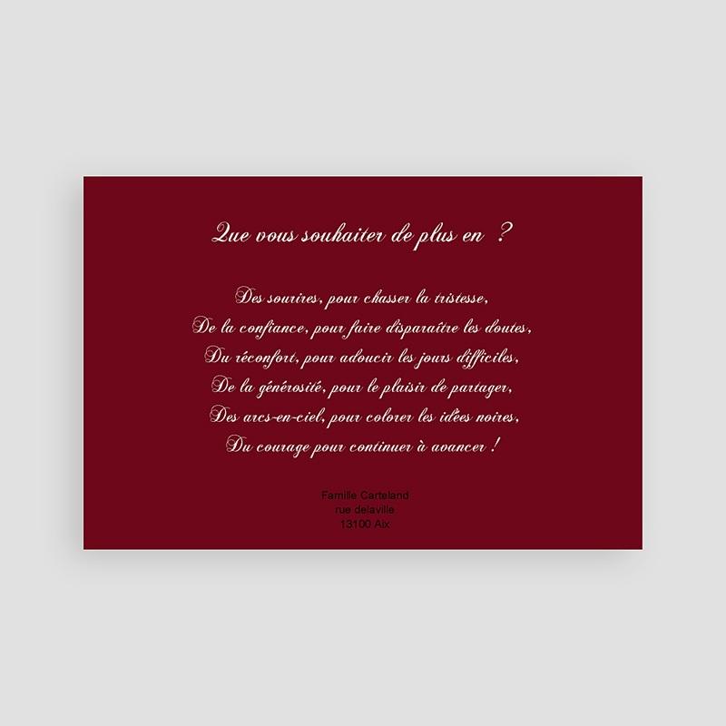Carte de Voeux 2019 - Ruban Rouge de Noel 8395 thumb