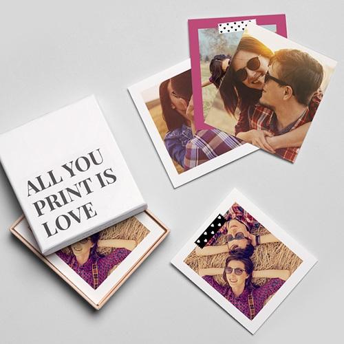 Tirage Photo Rétro Love love gratuit