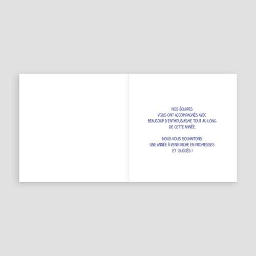 Carte de Voeux Professionnelle - Ensemble Créons 8399 thumb