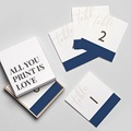 Marque Table Mariage Blue Color Touch gratuit