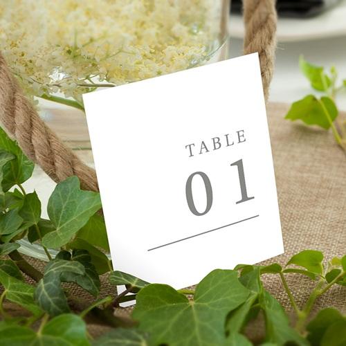 Marque Table Mariage Botanique Minimaliste