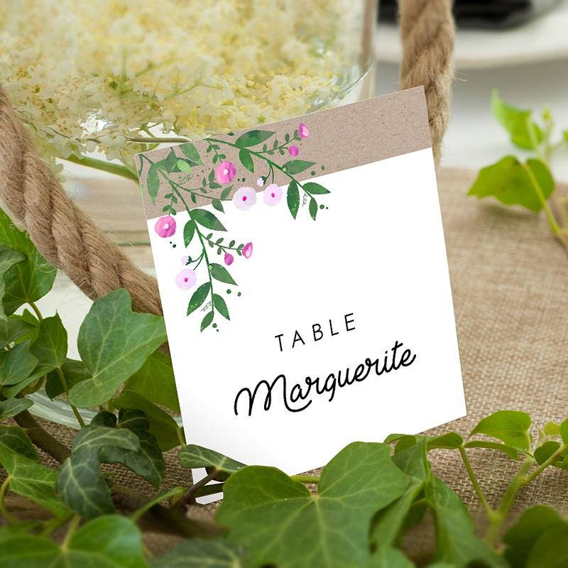 Marque Table Mariage Nature en fête