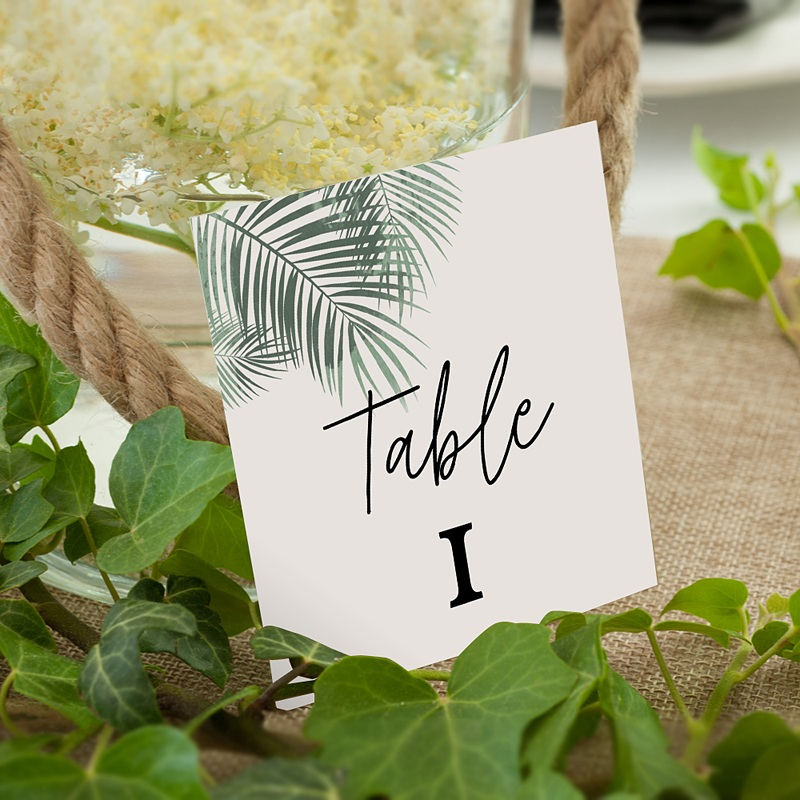 Marque Table Mariage Palm Springs