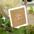Marque Table Mariage Couronne Florale