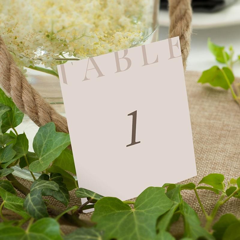 Marque Table Mariage Blush Addict