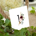 Marque Table Mariage Rock'n'Gold