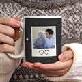 Mug Personnalisé Photo Ardoise, 3 photos, Diam. 8 cm, Haut. 9,5 cm gratuit