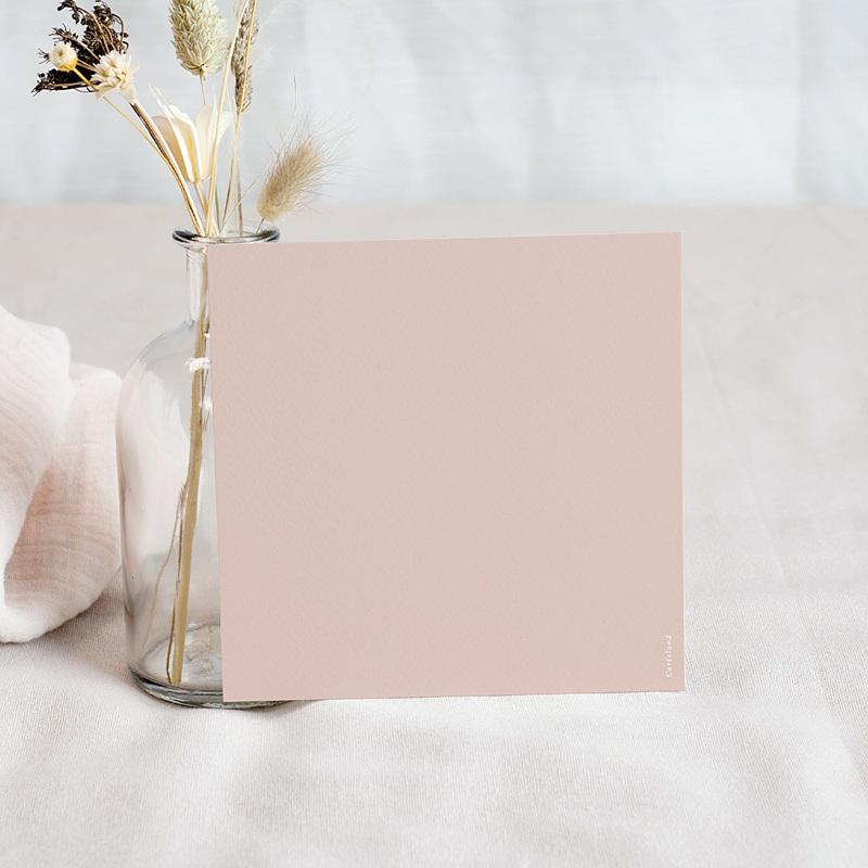 Carte Remerciement Naissance Fille Lapin Vintage Rose pas cher