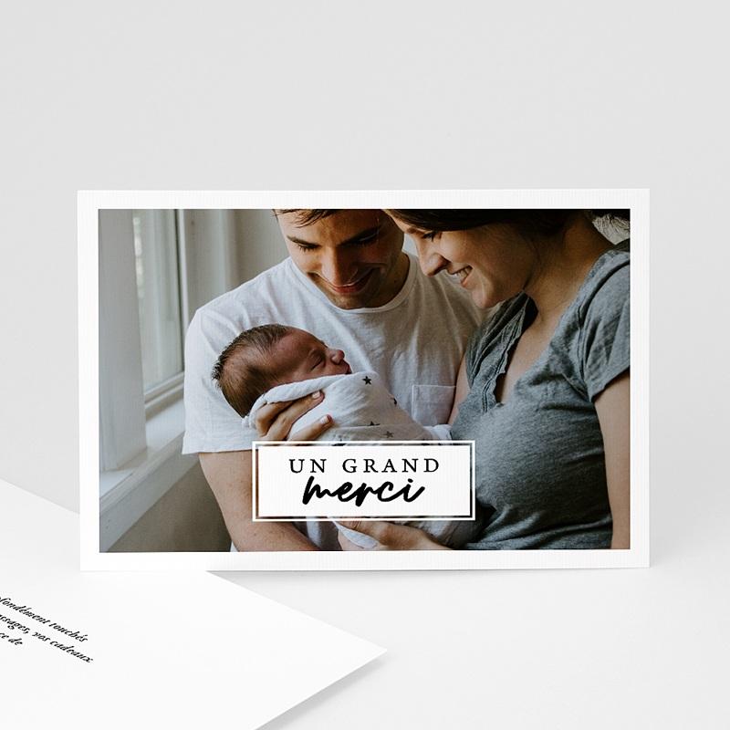 Carte Remerciement Naissance Fille La voici