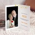 Carte invitation anniversaire 80 ans  Festive, Vernis 3D, 80 ans pas cher