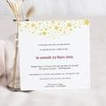 Carte invitation anniversaire 60 ans Festive, 60 ans, Vernis 3D, 14,5 x 15 cm pas cher