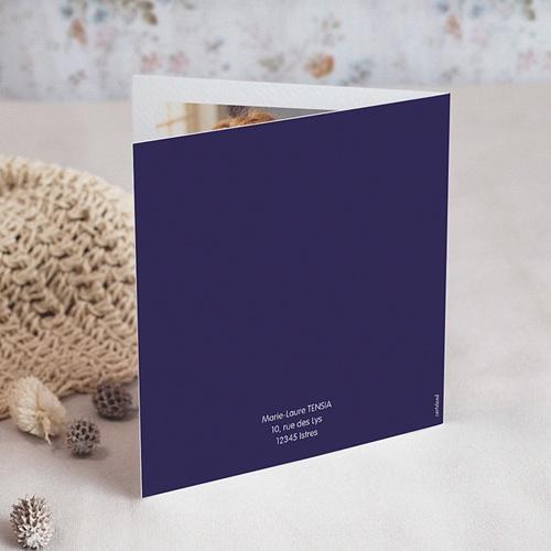 Carte invitation anniversaire 50 ans  Festive, 50 ans, Vernis 3D, Carré double gratuit