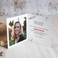 Carte Invitation Anniversaire Adulte Cirque, 50 ans, Vernis 3D, double volets pas cher