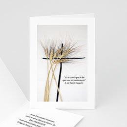 Blé endeuillé - hommage, souvenir - 3