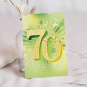 Personnalisé Papier Photo Carte merci notes fête d/'anniversaire Tractopelle Construction