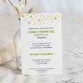 Carte invitation anniversaire 70 ans Vernis 3D, 70 ans, 12 x 16,7 cm pas cher